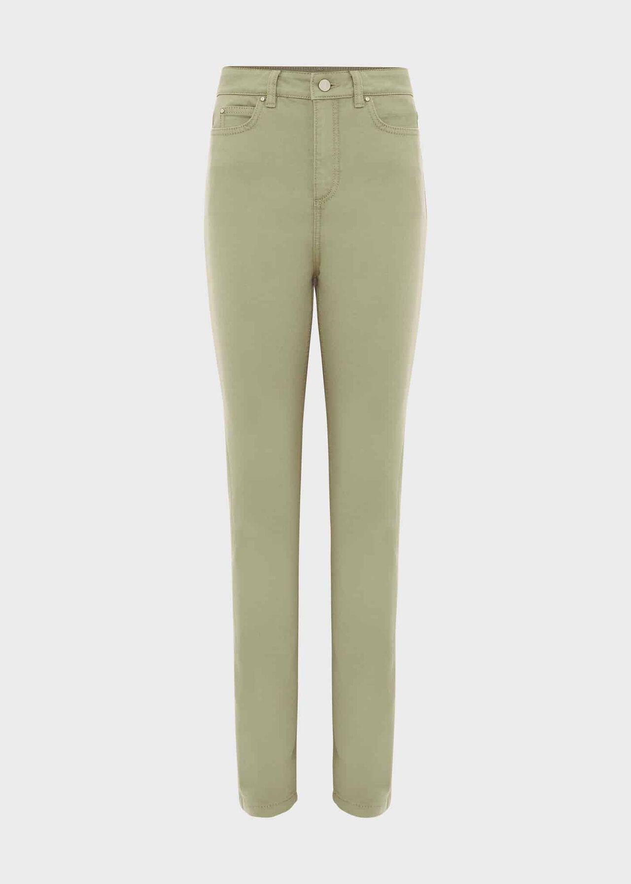 Gia Sculpting Jeans, Light Green, hi-res