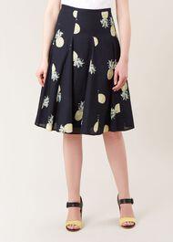 Melina Skirt, Navy Multi, hi-res