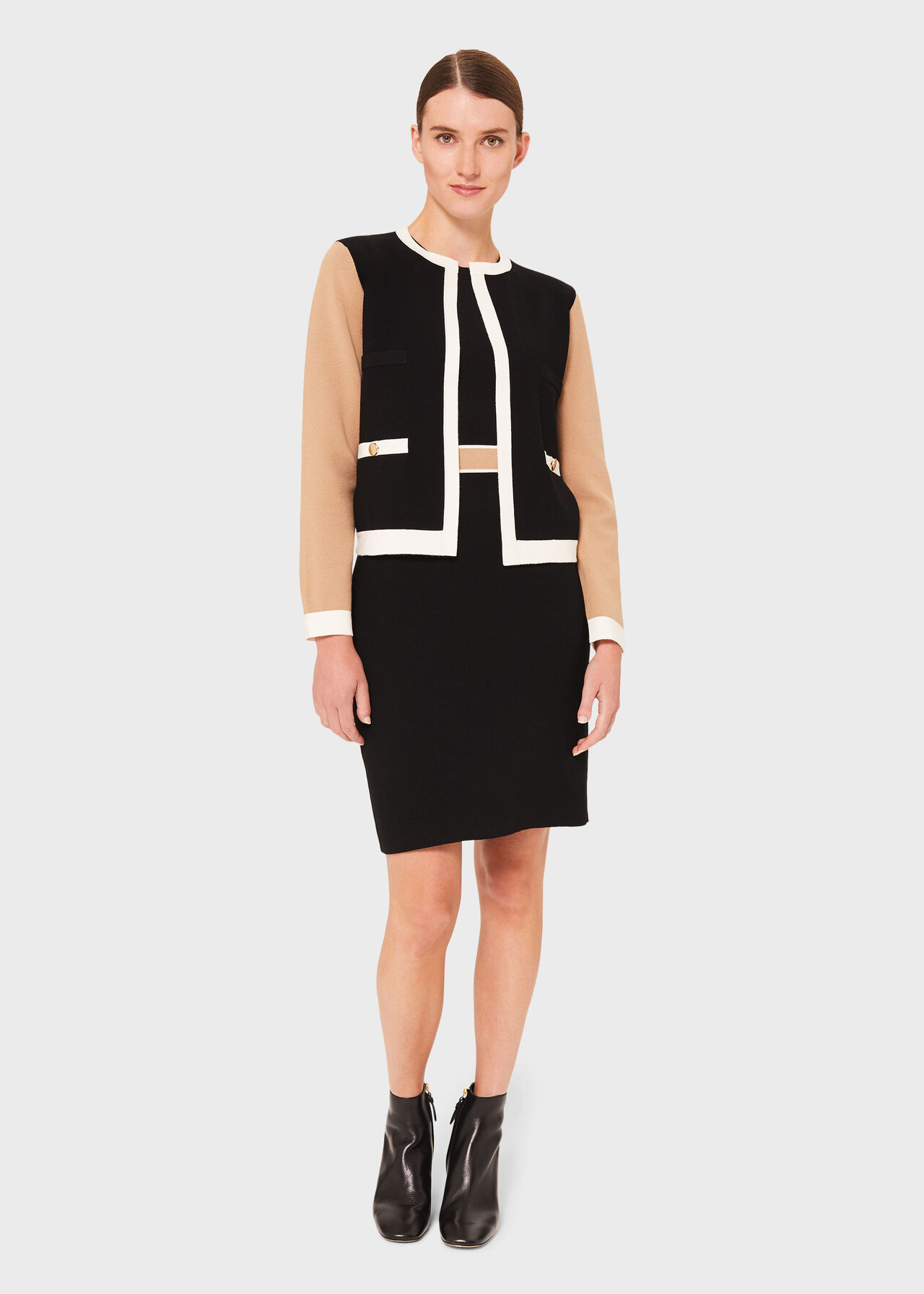 Aria Co-ord Knitted Dress Suit, , hi-res