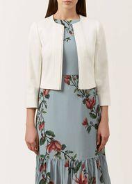 Meghan Jacket, Ivory, hi-res