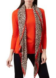 Charis Scarf, Chilli Red, hi-res