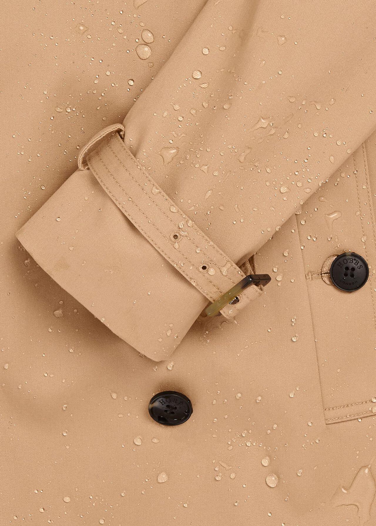 Finley Water Resistant Trench Coat, Fawn Beige, hi-res