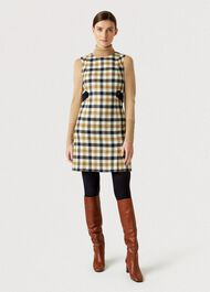 Cinthia Wool Dress, Bamboo Multi, hi-res