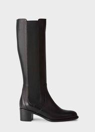 Emma Knee Boot, Black, hi-res