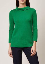 Anastasia Sweater, Apple Green, hi-res
