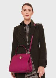 Highland Cross Body Bag, Dark Raspberry, hi-res