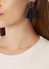 Carmen Earring, Blue, hi-res