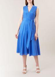Regina Dress, Sapphire Blue, hi-res