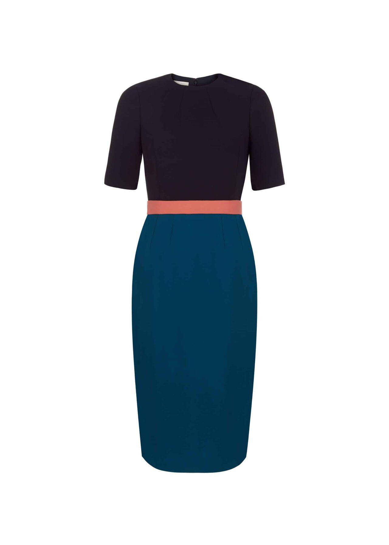Adela Dress Navy Multi