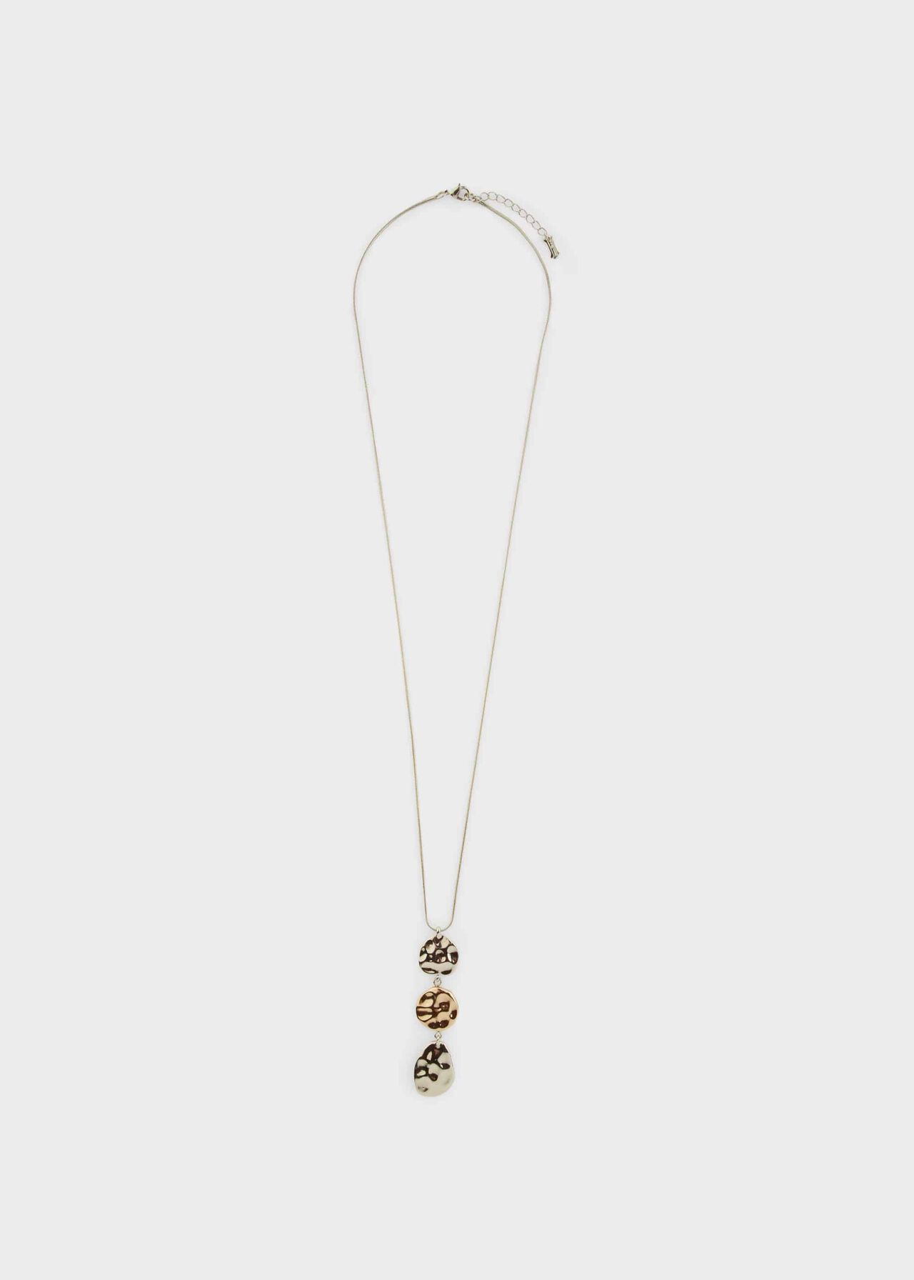 Hayley Pendant, Silver Gold, hi-res