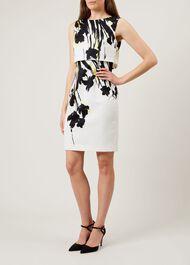 Bree Dress, Ivory Multi, hi-res