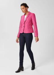 Hackness Wool Jacket, Pink, hi-res
