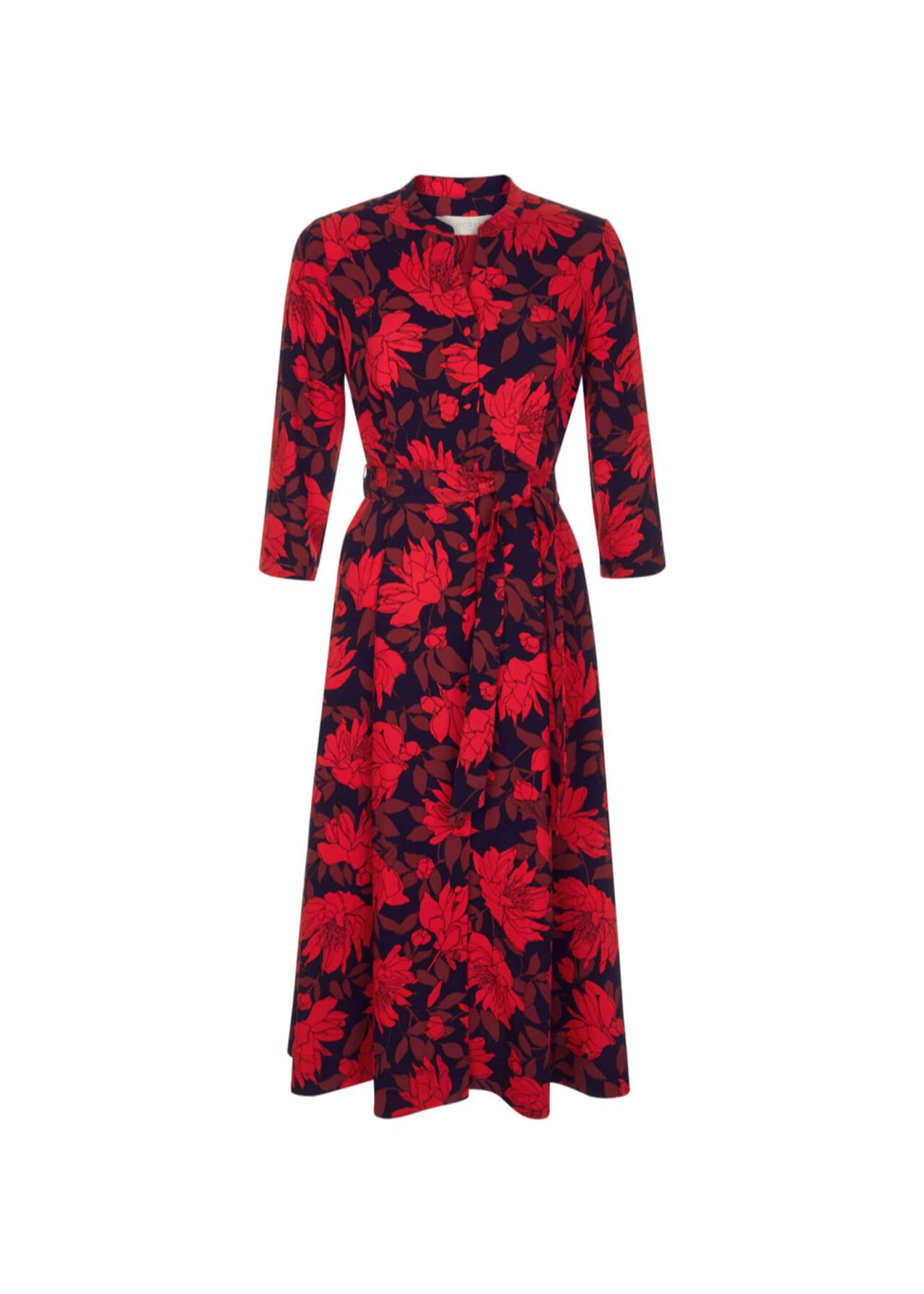 Ciara Dress Navy Red