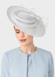 Arabella Fascinator, Ivory, hi-res