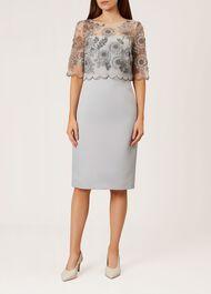 Anna Dress, Silver, hi-res