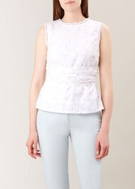 Anika Top, White, hi-res