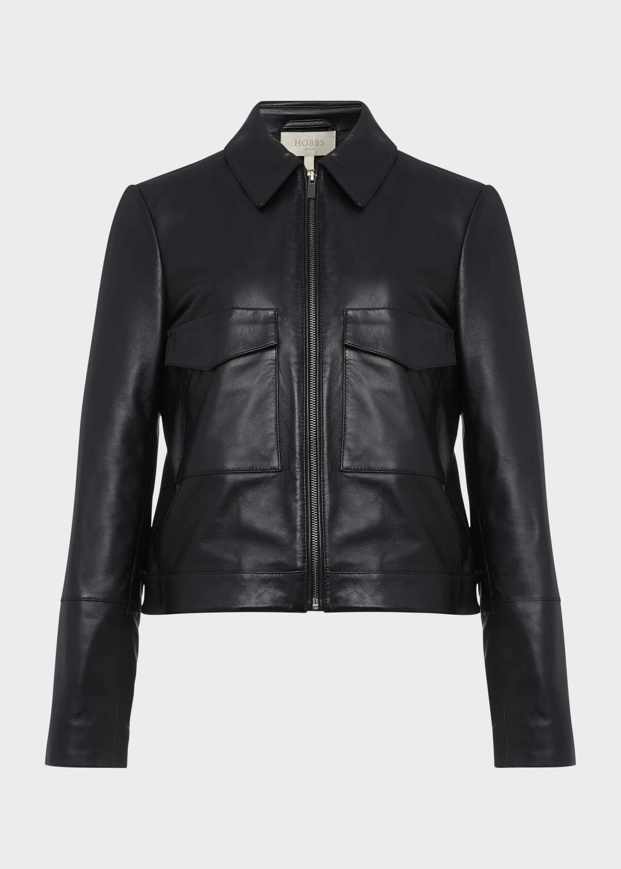 Elise Leather Jacket Black