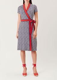 Sahara Dress, Frnch Blue Ivry, hi-res