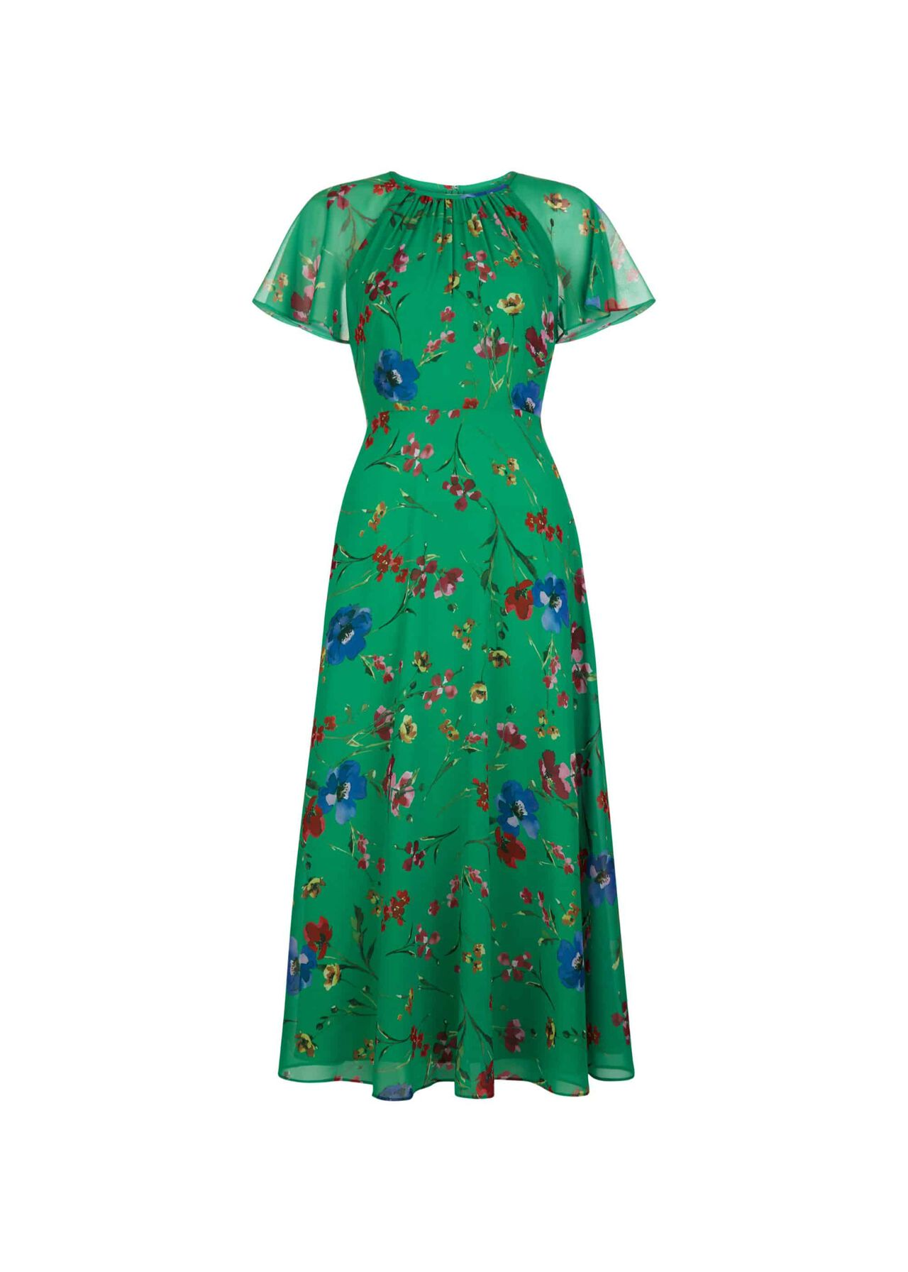 Sarah Dress Green Multi