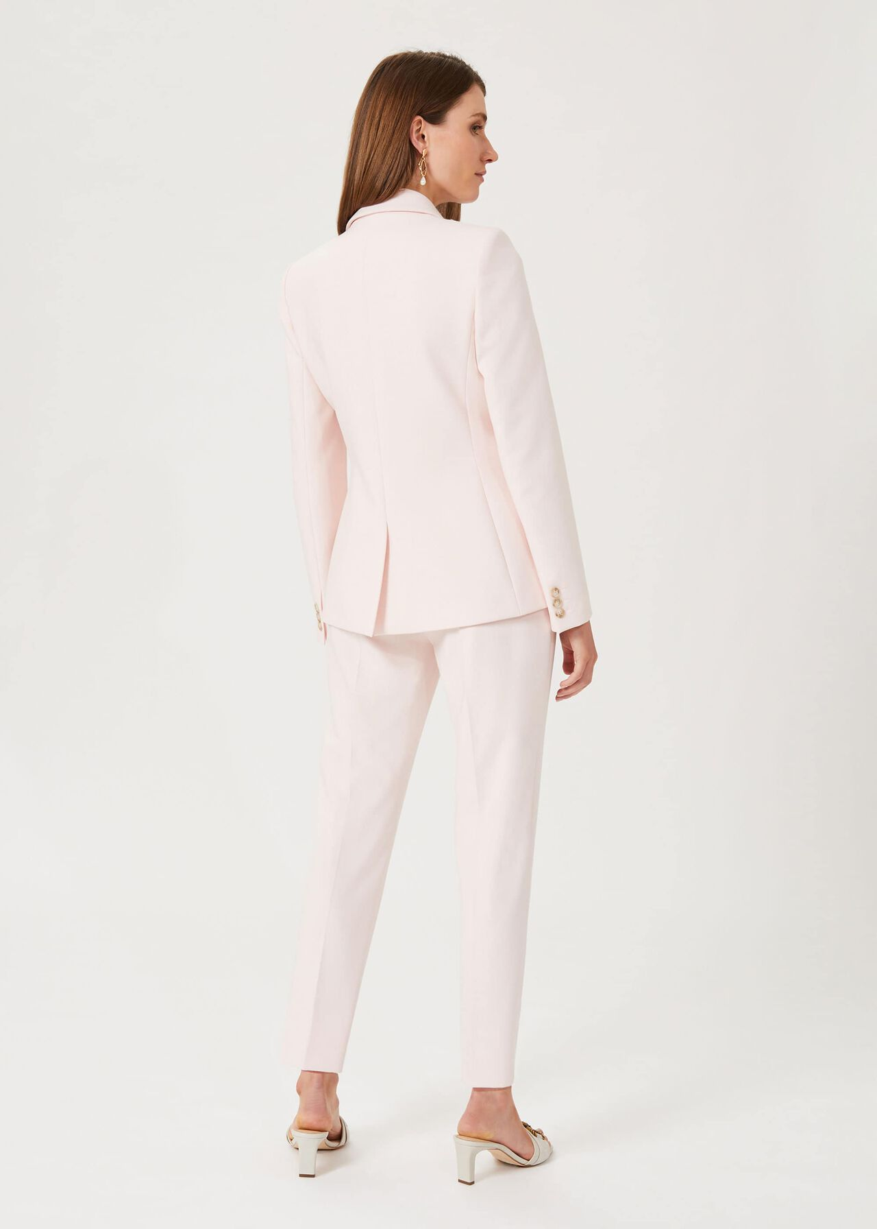 Kaia Tapered Trouser, Icy Pink, hi-res