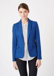 Blake Wool Jacket, Atlantic Blue, hi-res