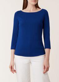 Sonya Top, Bright Blue, hi-res