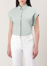 Susanna Shirt, Mint, hi-res