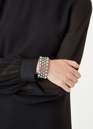 Aria Bracelet, Silver, hi-res