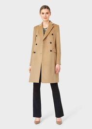 Elizabeth Coat, Camel, hi-res