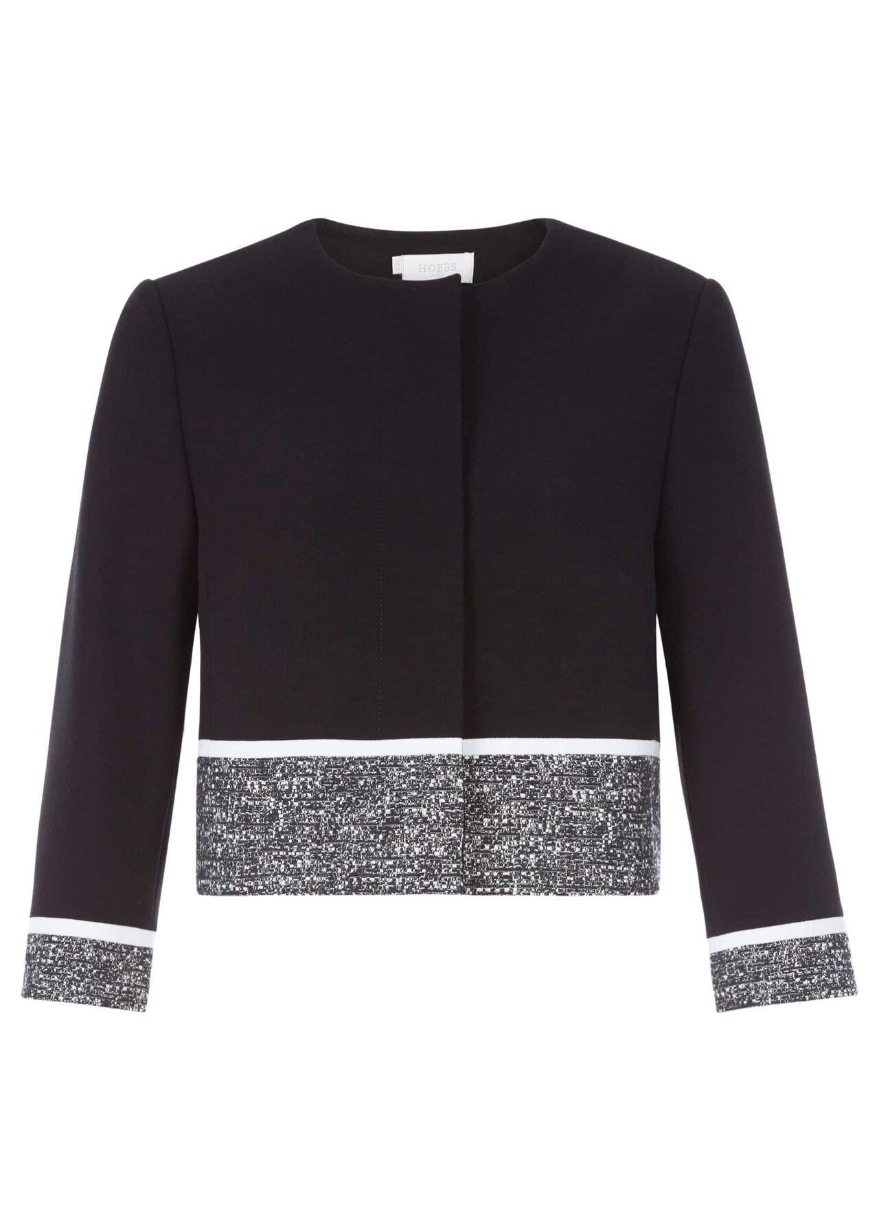 Robyn Jacket Black Ivory