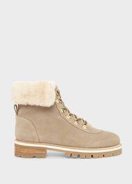 Kaden Suede Ankle Boots, Warm Camel, hi-res