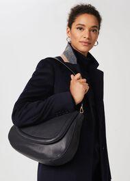 Wetherby Shoulder Bag, Navy, hi-res