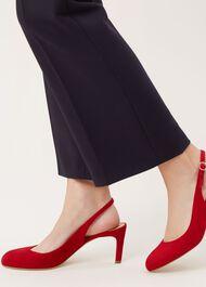 Sophia Slingback, Scarlet Red, hi-res