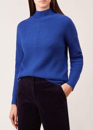 Jennifer Sweater, Cobalt, hi-res
