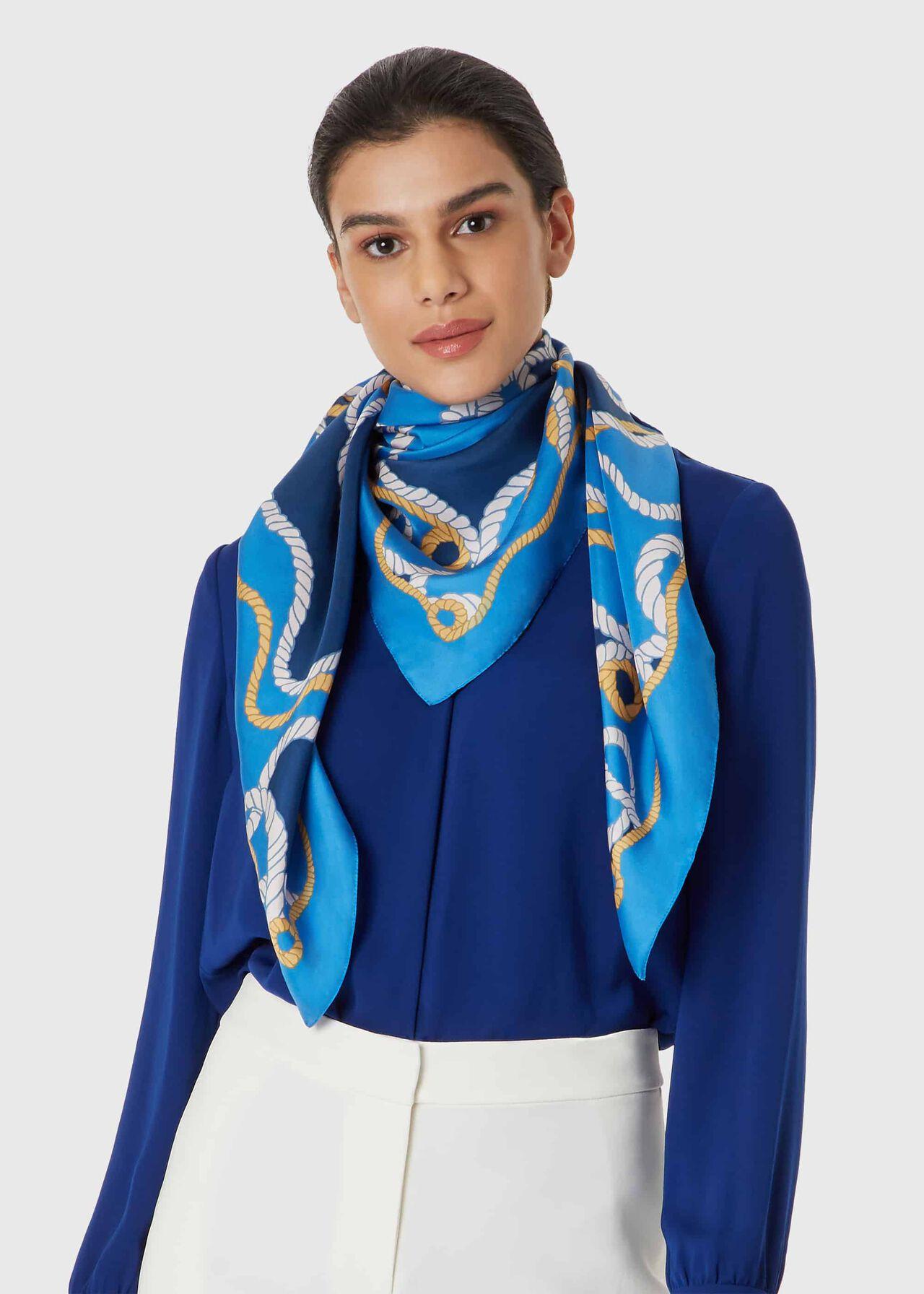 Elizabeth Scarf, Blue, hi-res