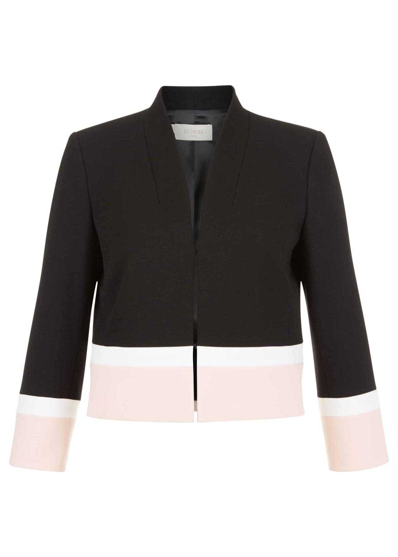 Petite Leah Jacket Black Pink
