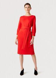 Samara Dress, Red, hi-res