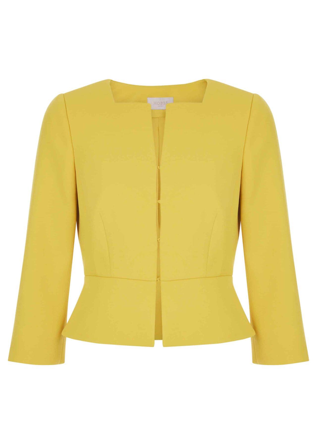 Harper Square Jacket Chartreuse