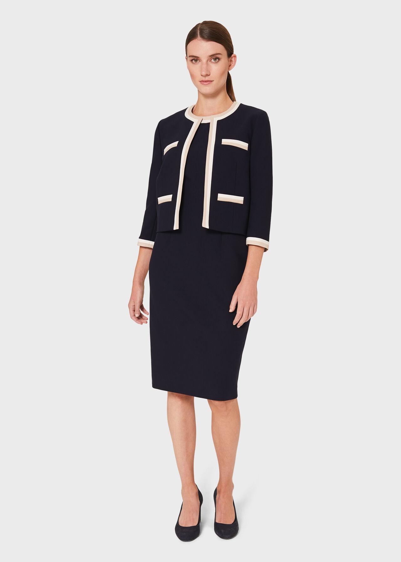 Ebony Co-ord Dress Suit, , hi-res