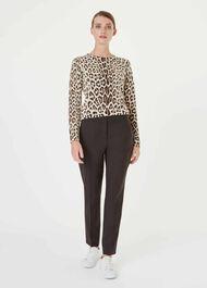 Hazel Merino Wool Sweater, Oatmeal Multi, hi-res