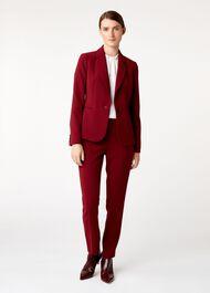 Tamsin Jacket, Cranberry, hi-res