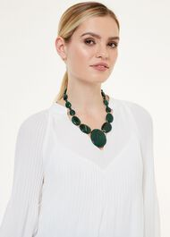 Lowell Necklace, Evergreen Quart, hi-res
