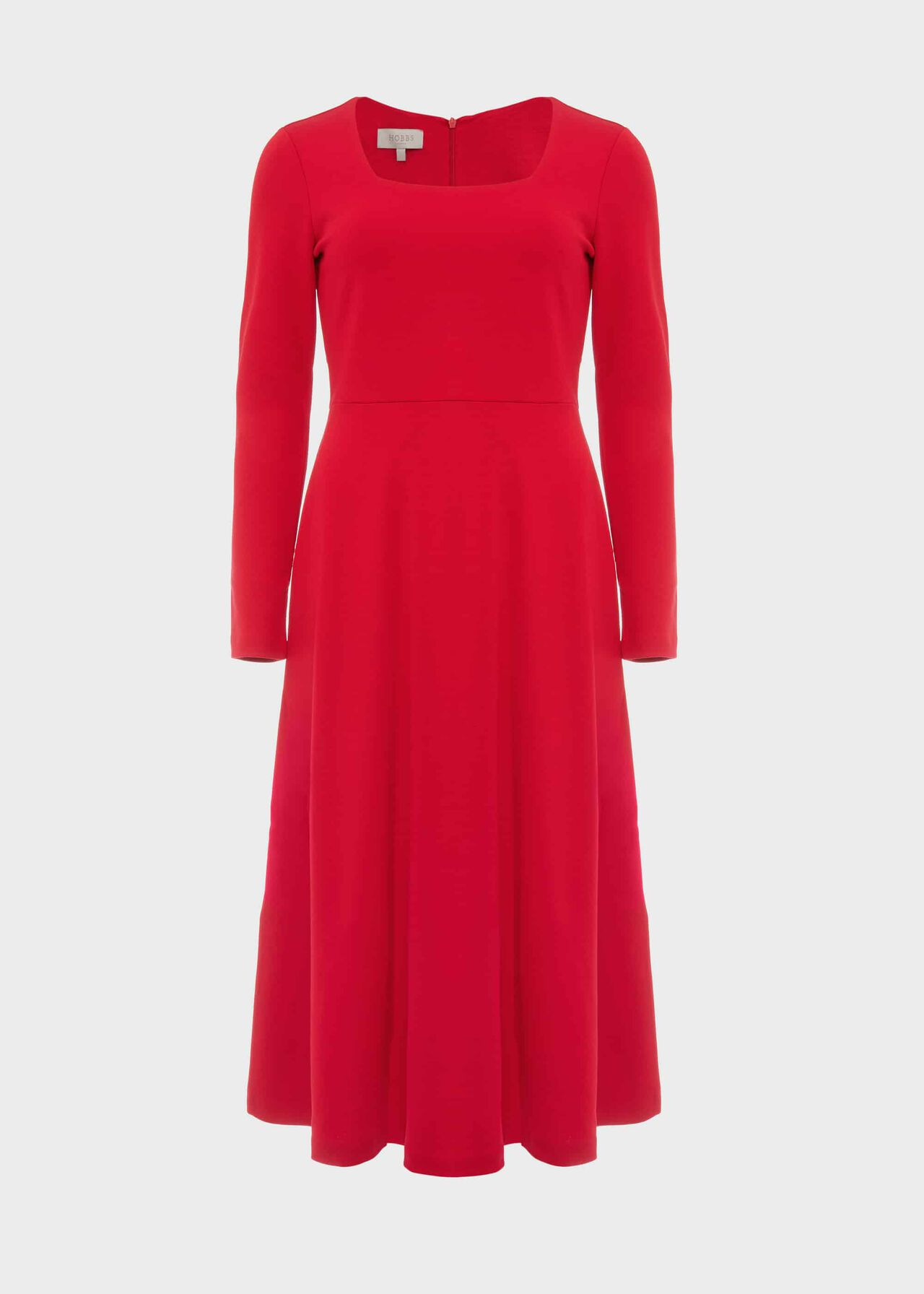 Marina Jersey Dress Raspberry