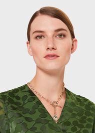 Sophia Chain Necklace, Gold, hi-res