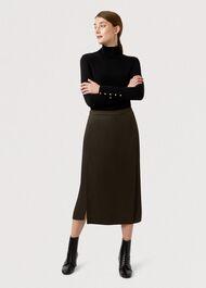 Dionne Skirt, Dark Green, hi-res