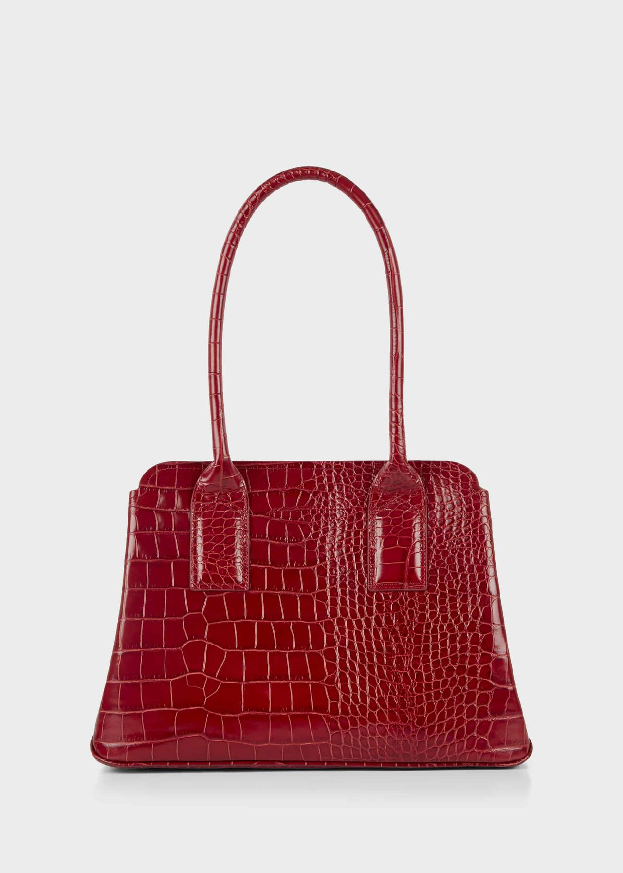 Whitby Leather Tote Bag Red