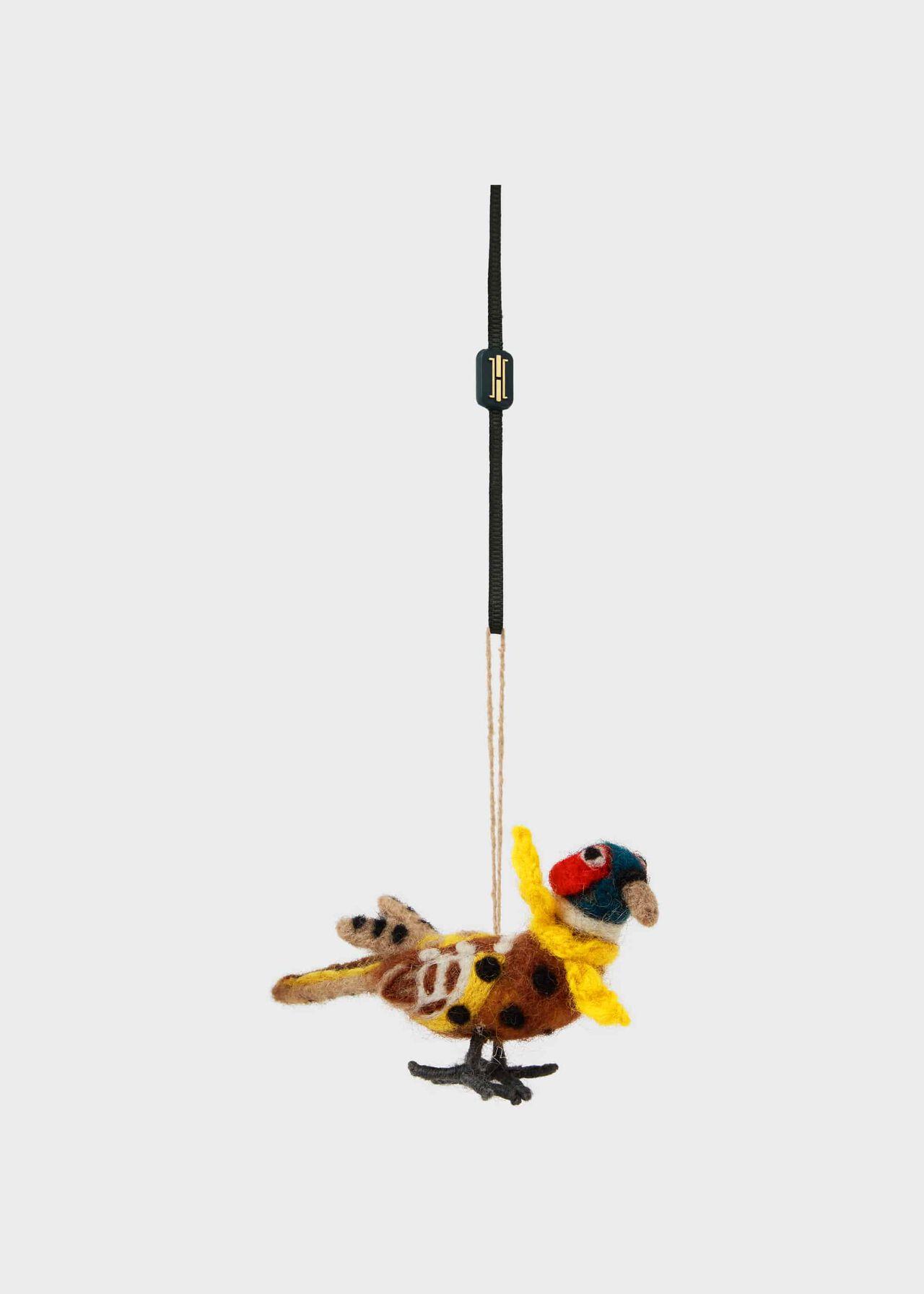 Pheasant Tree Decoration, Multi, hi-res