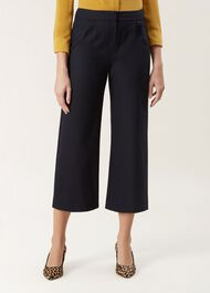 Lula Wool Trouser, Navy, hi-res