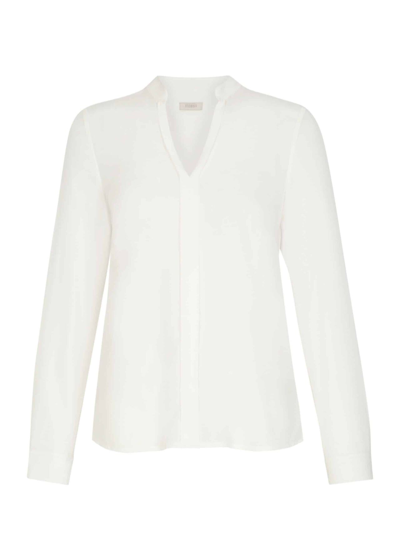 Silk May Blouse Ivory