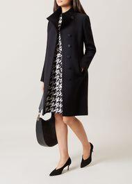 Soraya Coat, Black, hi-res